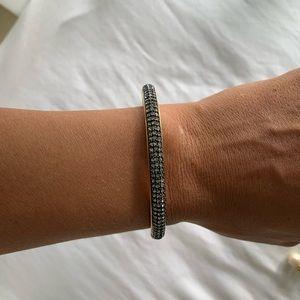 JCrew Navy/Pave gemstone Bracelet